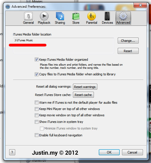 Where is my iTunes Media Folder