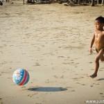 Beachboy Levitation with a Doraemon Ball