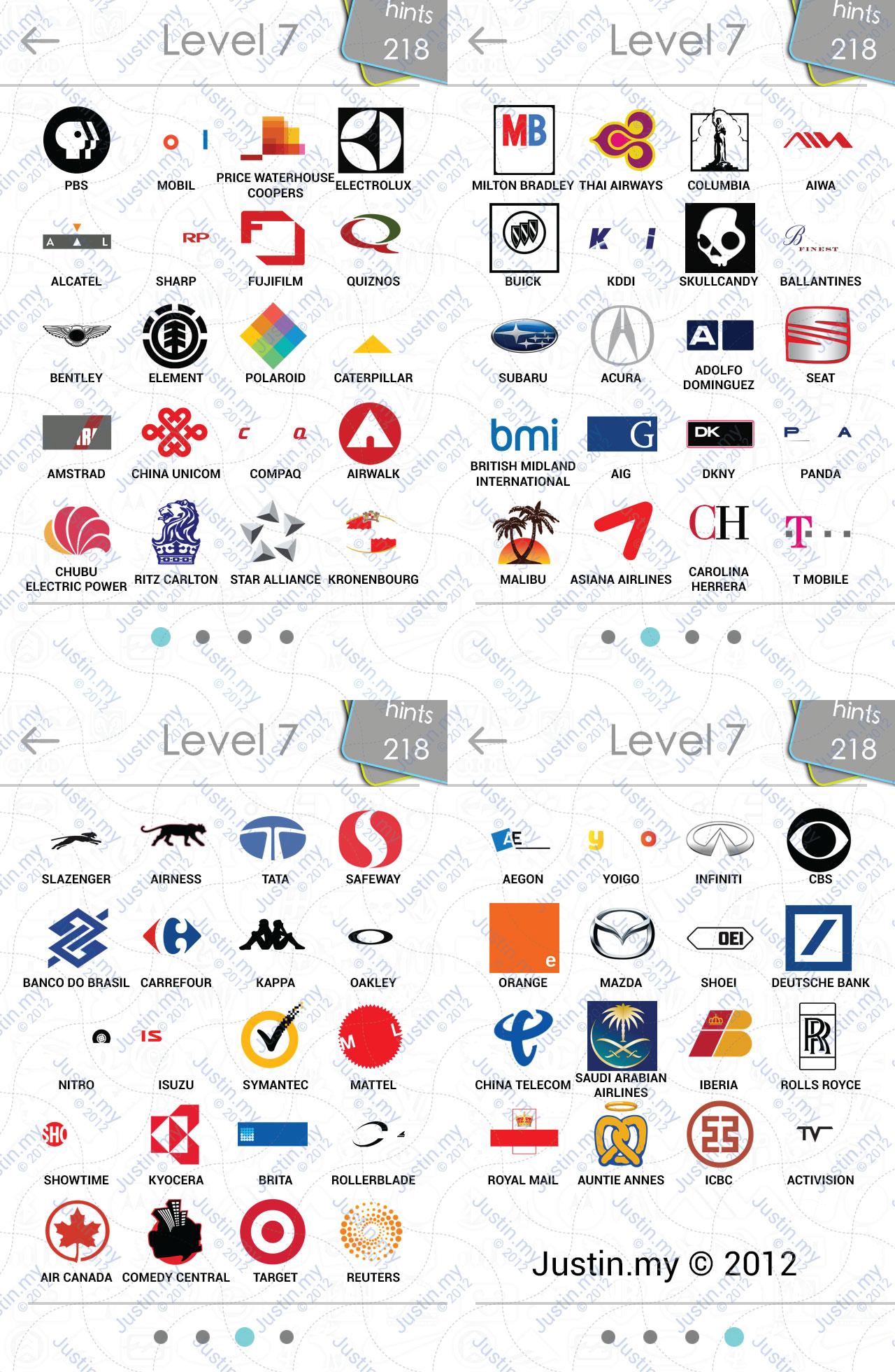 Logos Answers Level 7 : logos, answers, level, Logos, Answers, IPhone,, IPad,, IPod,, Android