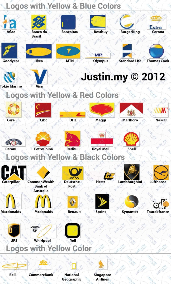 Logos with Yellow