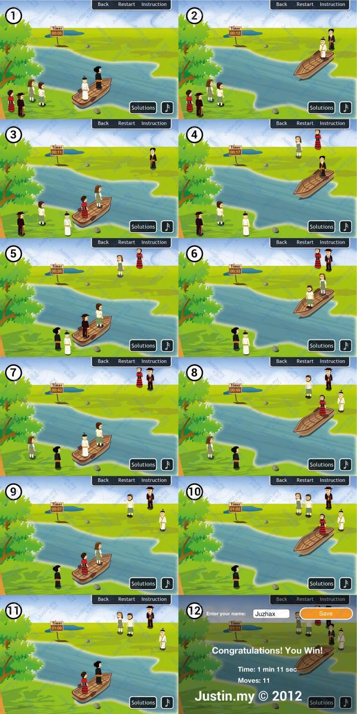 River Test Solution 3 Jealous Husbands