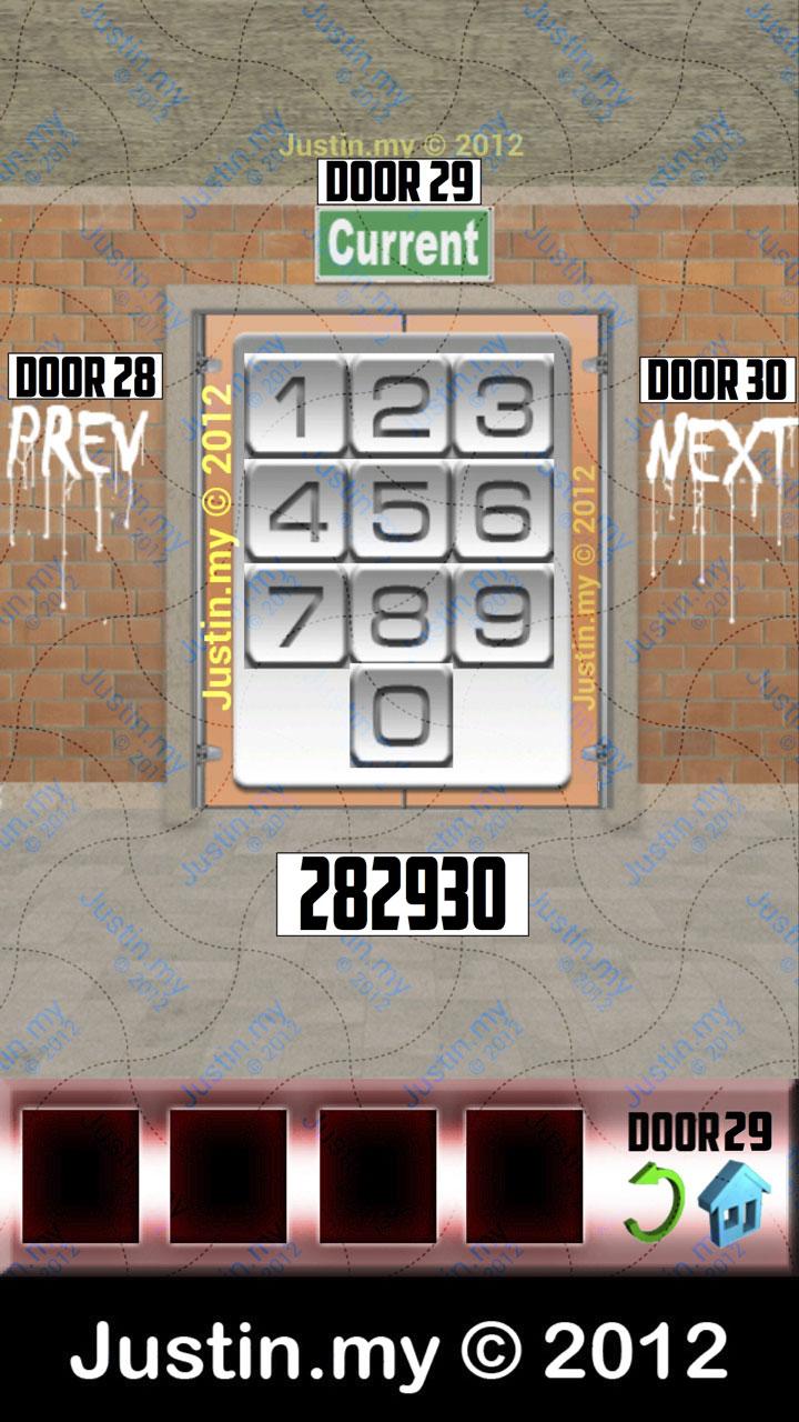 100 Doors X Level 29