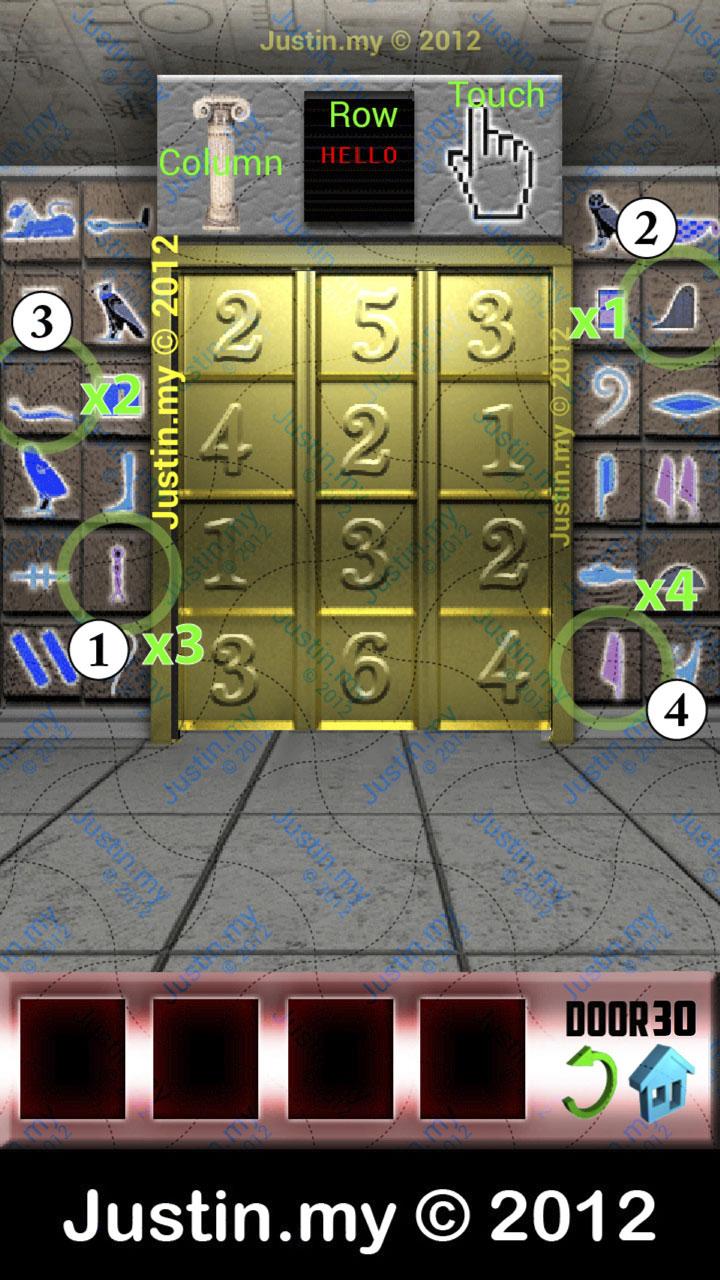 100 Doors X Level 31