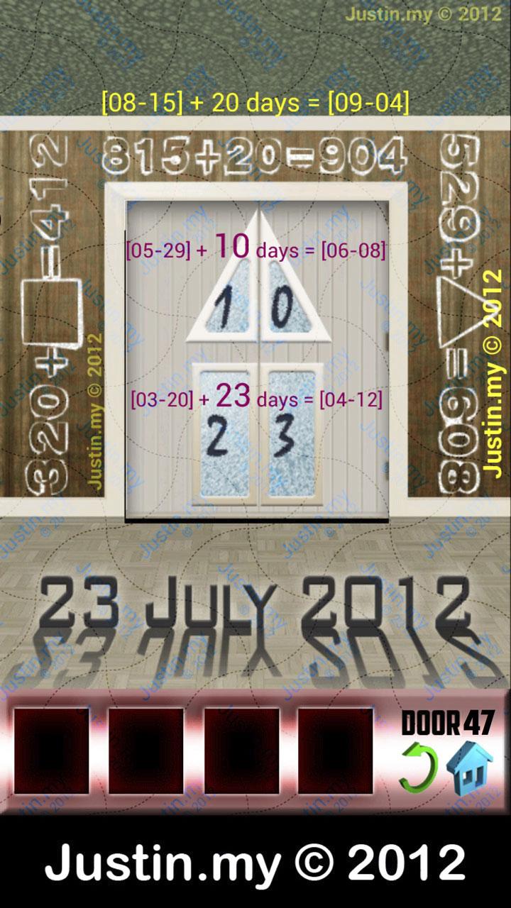 100 Doors X Level 47