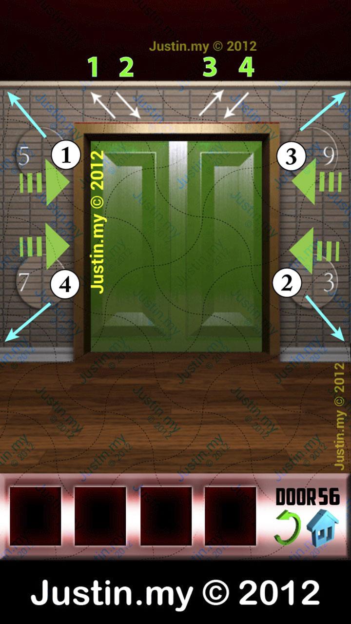 100 Doors X Level 56