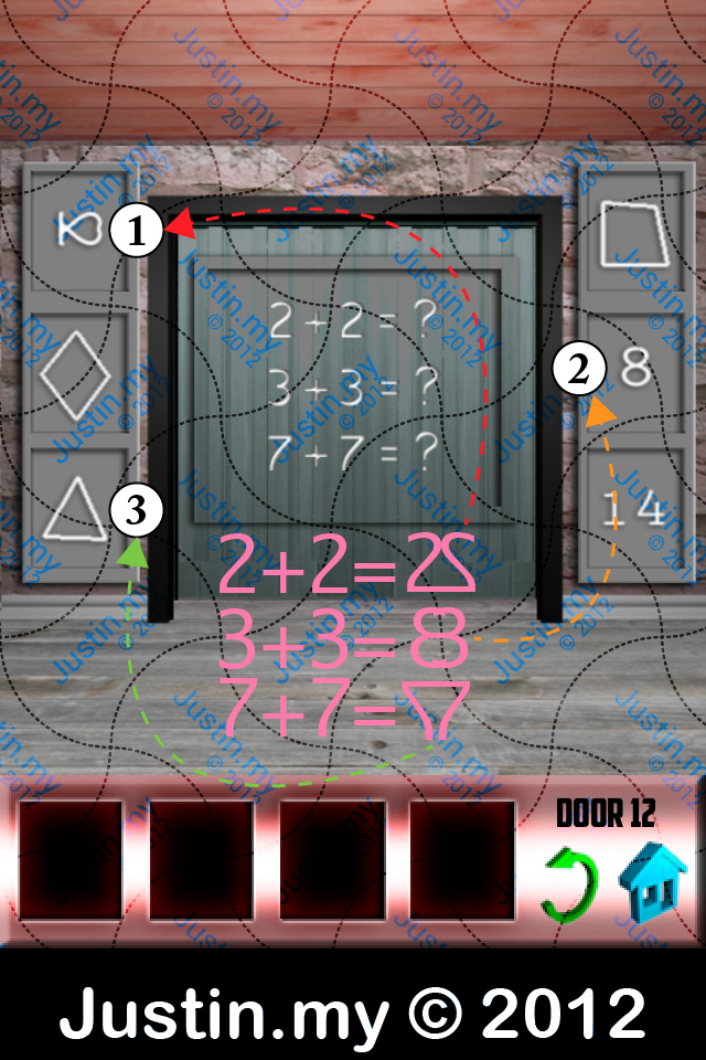100 Doors X Walkthrough Level 12