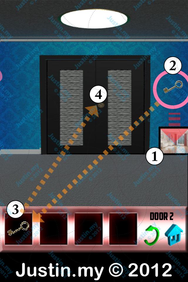 100 Doors X Walkthrough Level 2