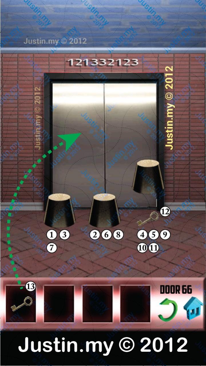 100 Doors Level 66