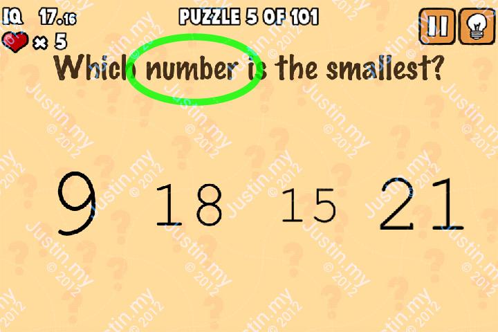 Whats My IQ Cheats Level 5 v2