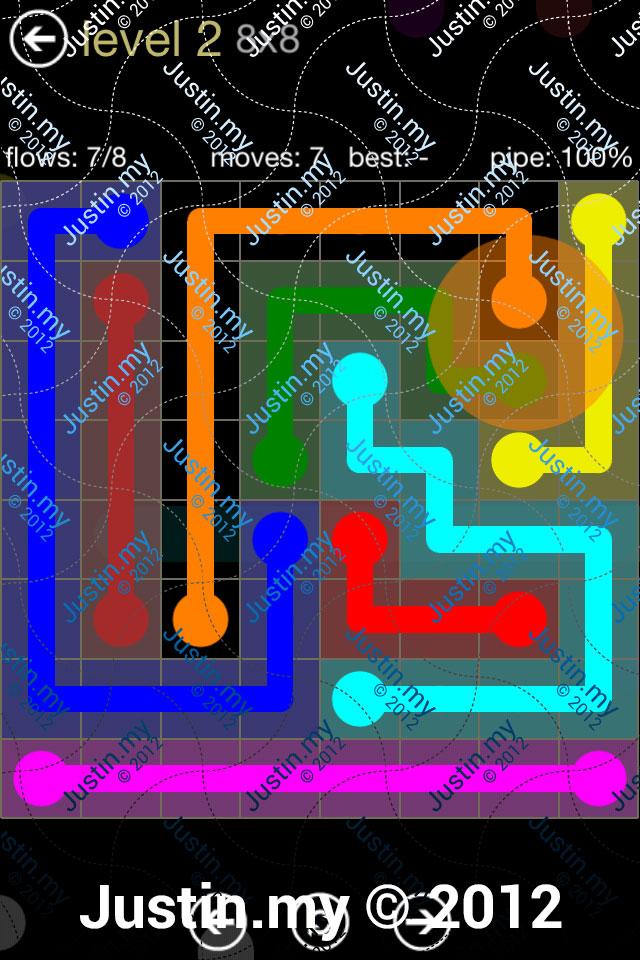 Flow 8x8 Mania Level 002
