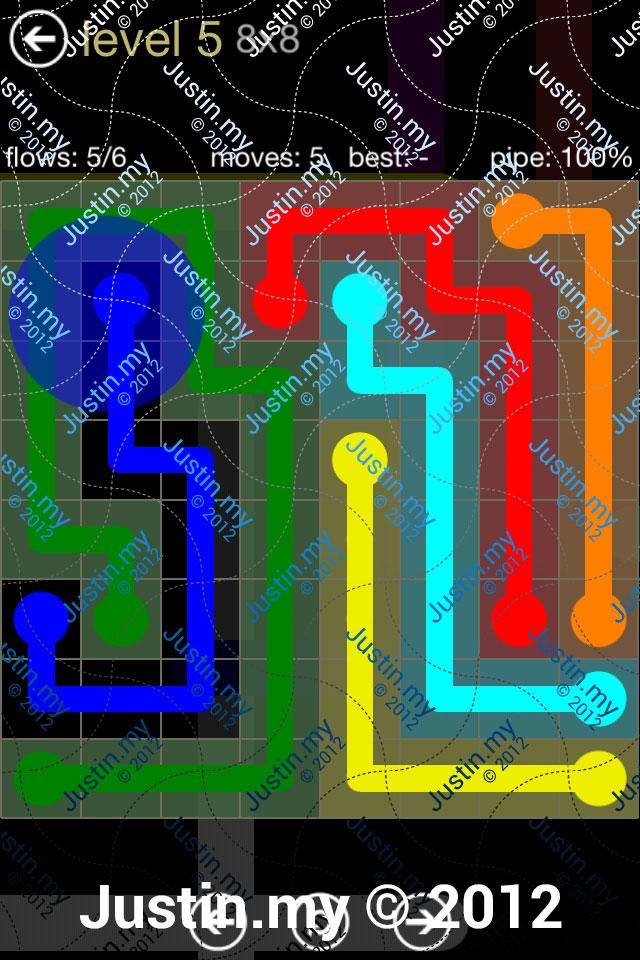 Flow 8x8 Mania Level 005