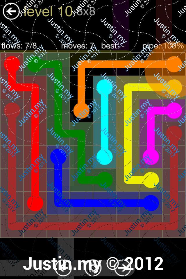 Flow 8x8 Mania Level 010