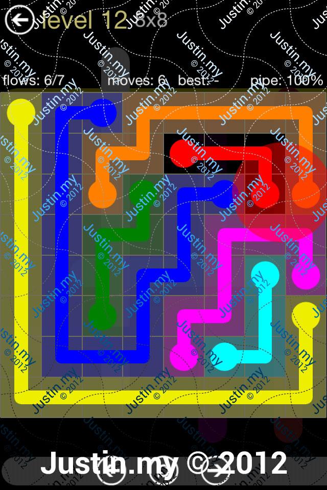 Flow 8x8 Mania Level 012