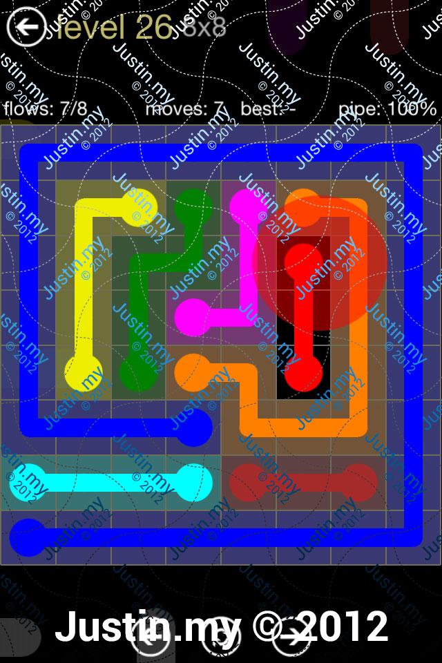 Flow 8x8 Mania Level 026