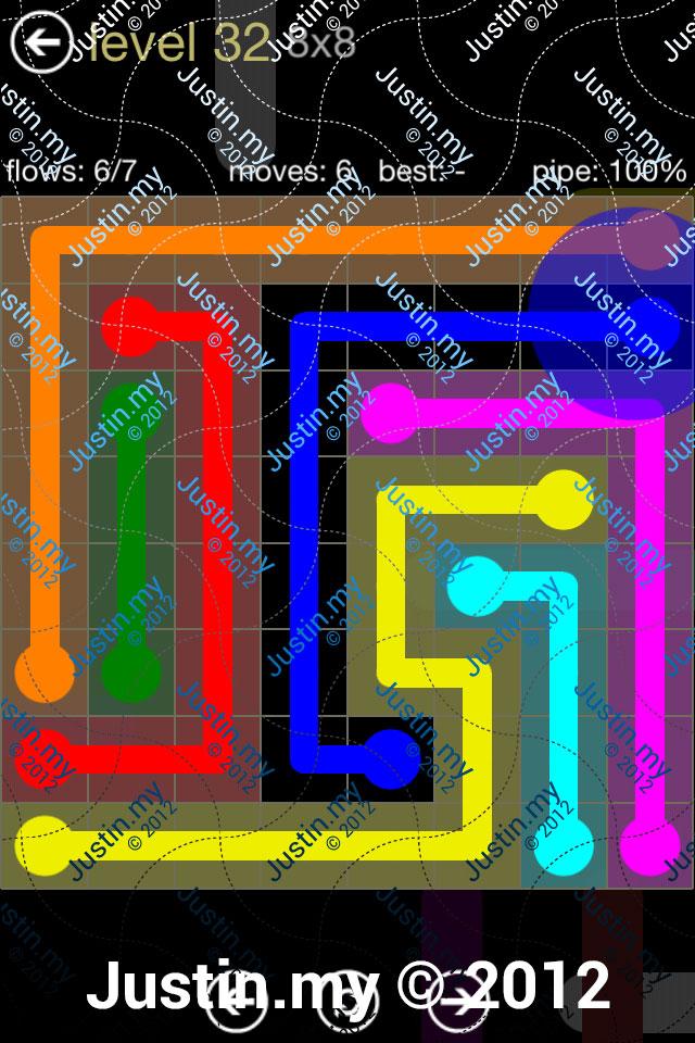 Flow 8x8 Mania Level 032