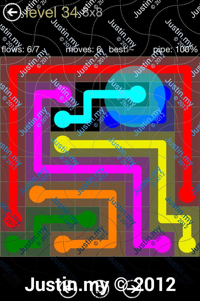 Flow 8x8 Mania Level 034
