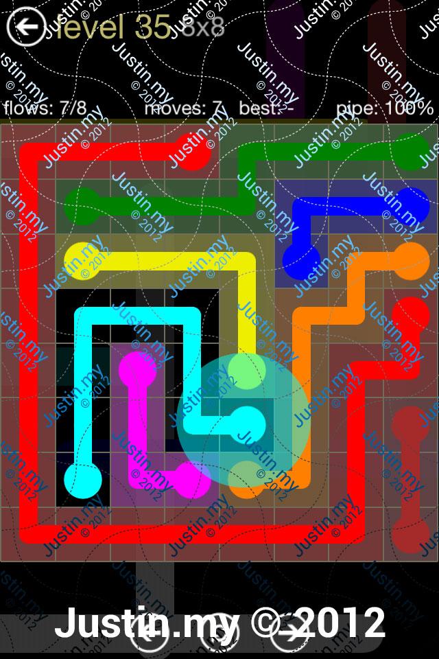 Flow 8x8 Mania Level 035