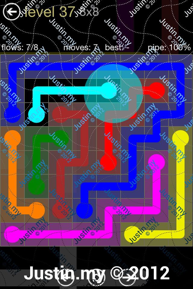 Flow 8x8 Mania Level 037