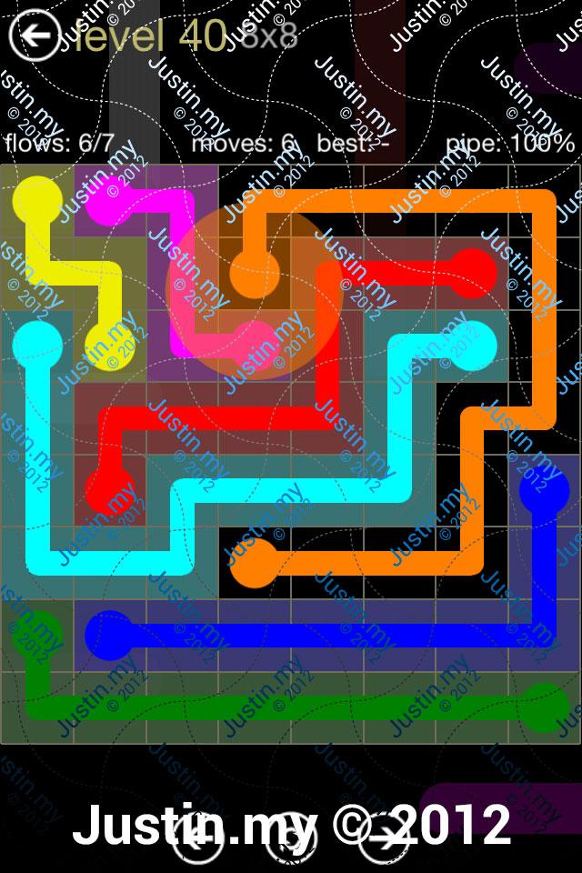 Flow 8x8 Mania Level 040