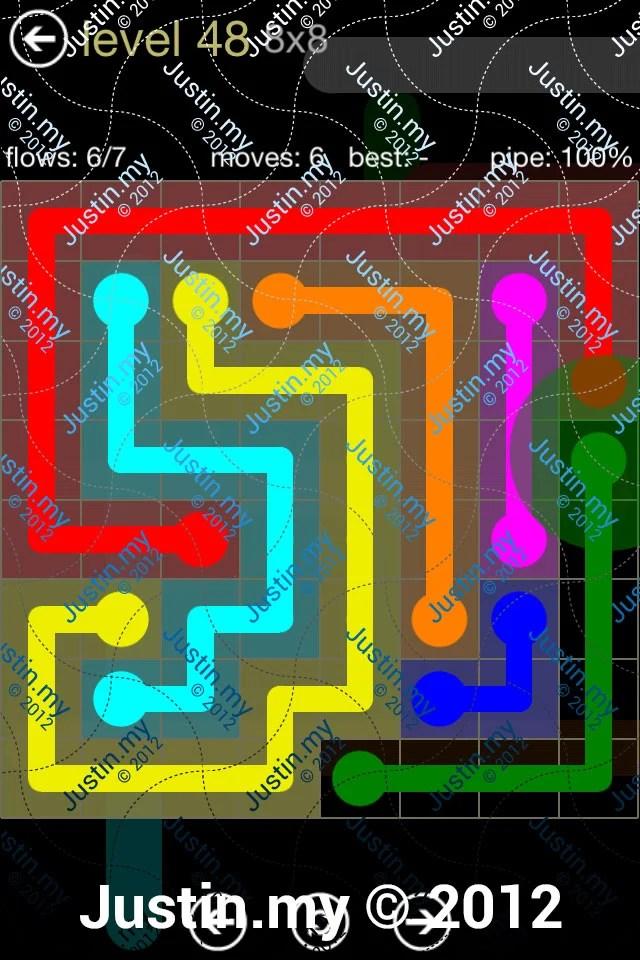 Flow 8x8 Mania Level 048