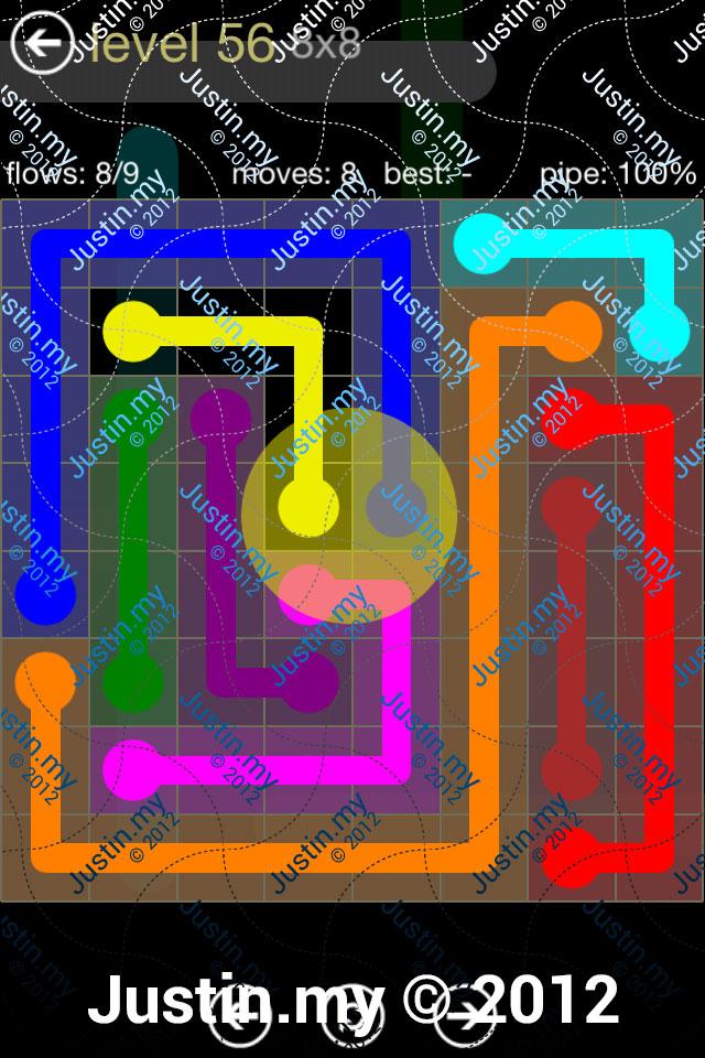 Flow 8x8 Mania Level 056