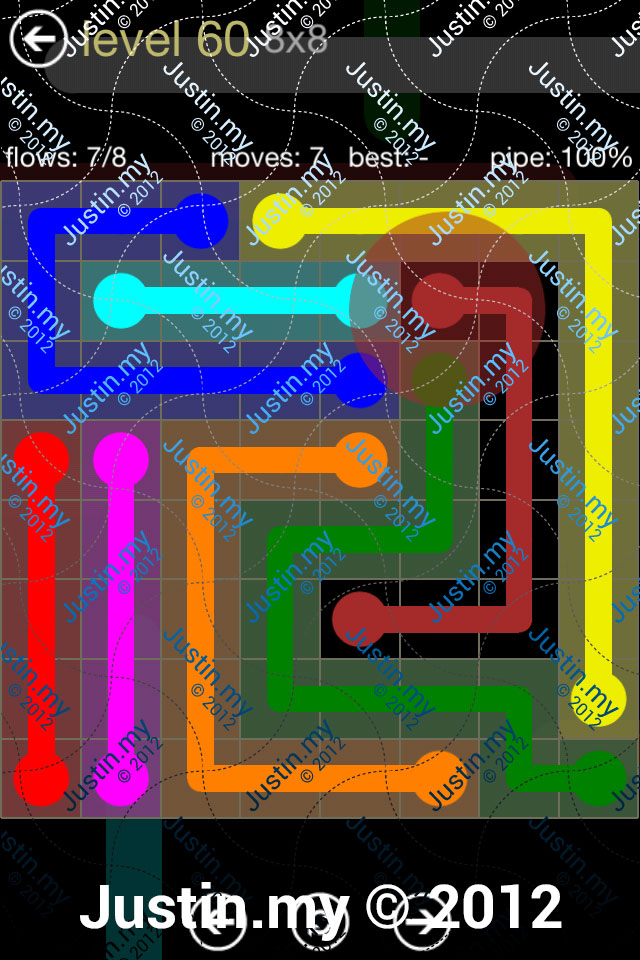 Flow 8x8 Mania Level 060