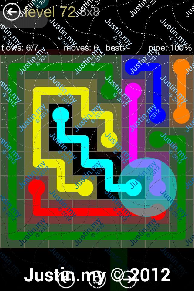 Flow 8x8 Mania Level 072