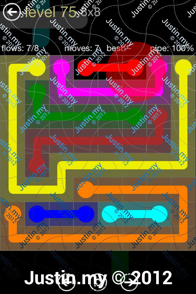 Flow 8x8 Mania Level 075