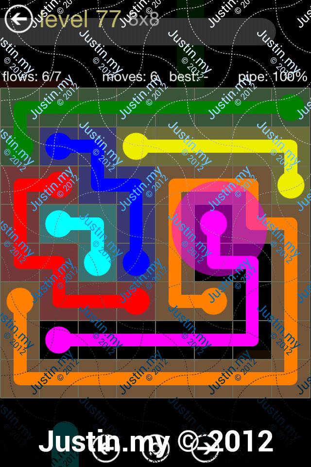 Flow 8x8 Mania Level 077