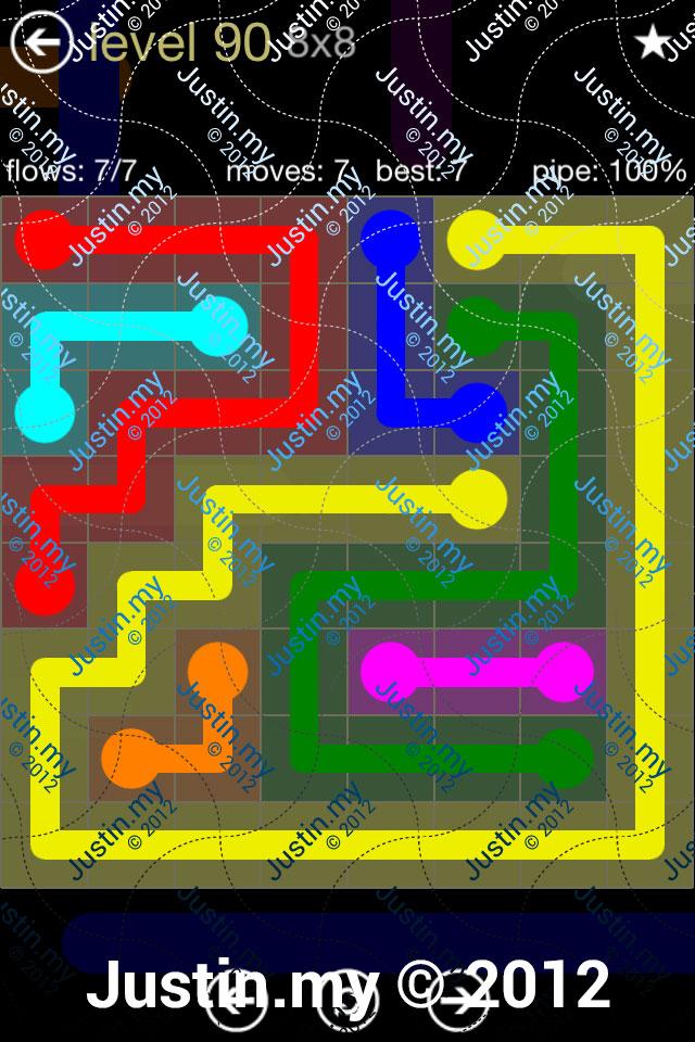 Flow 8x8 Mania Level 090