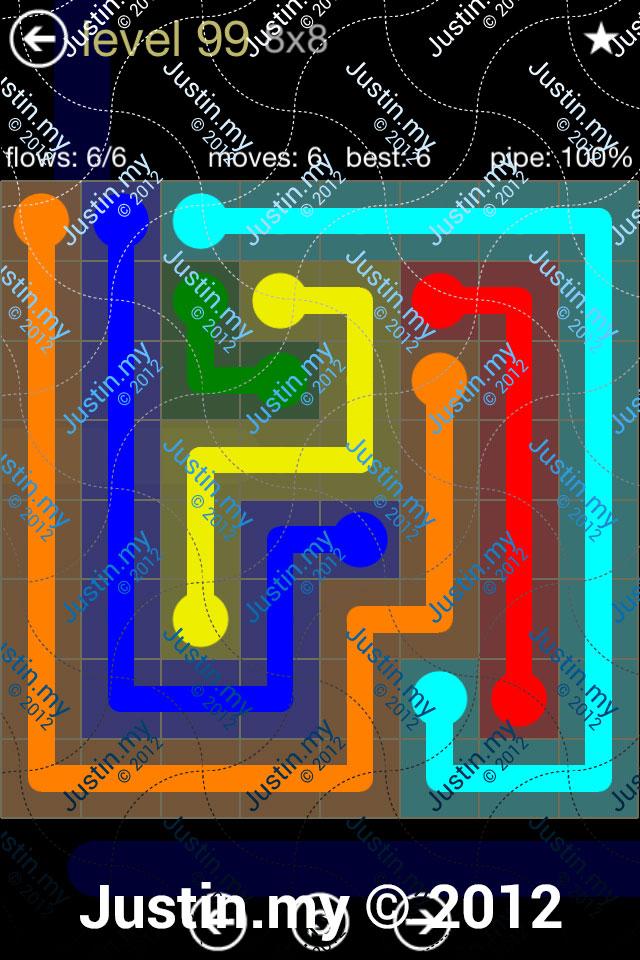 Flow 8x8 Mania Level 099