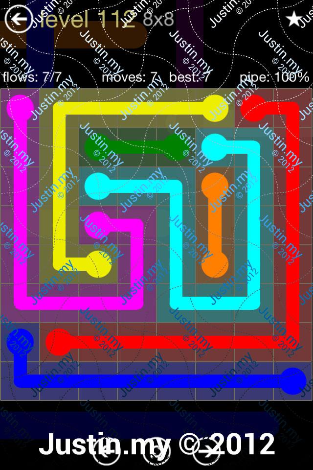 Flow 8x8 Mania Level 112