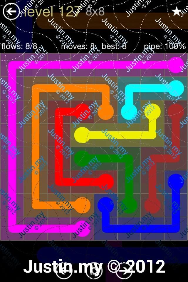 Flow 8x8 Mania Level 127
