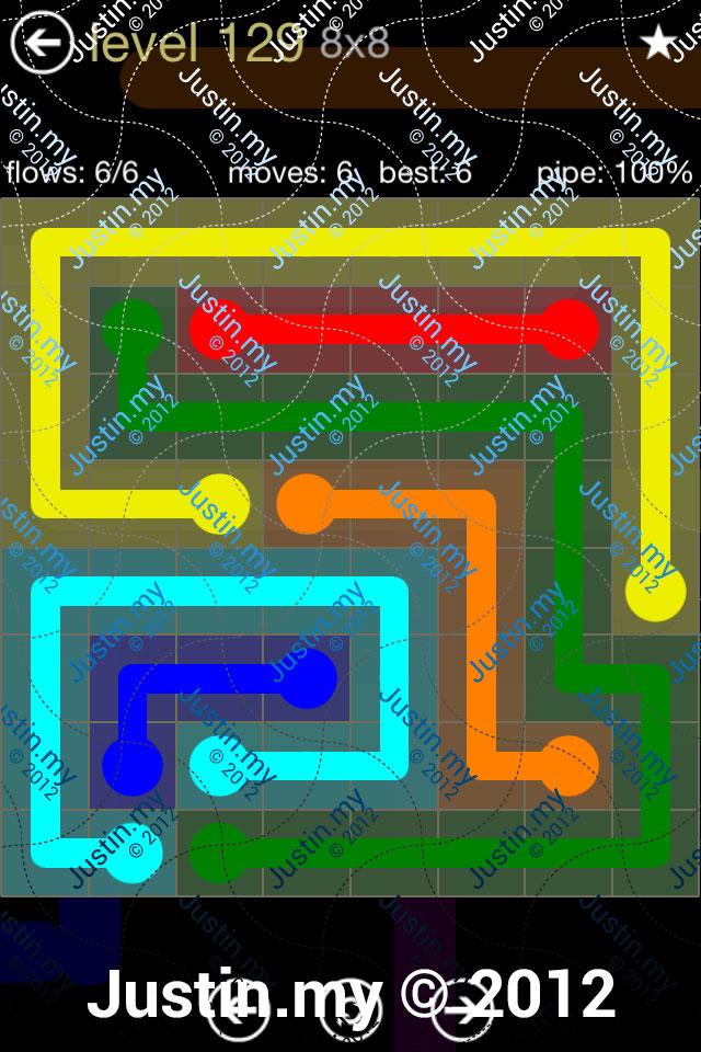 Flow 8x8 Mania Level 129