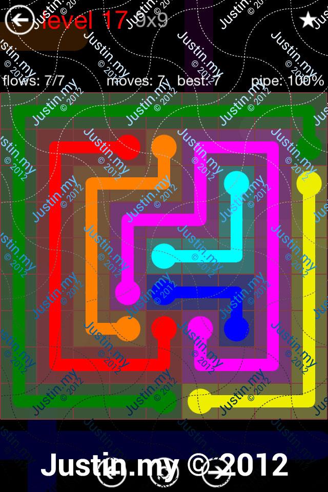 Flow 9x9 Mania Level 017