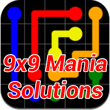 Flow 9x9 Mania Solutions