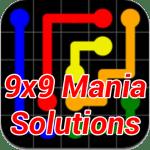 Flow Mania 9×9 Answers