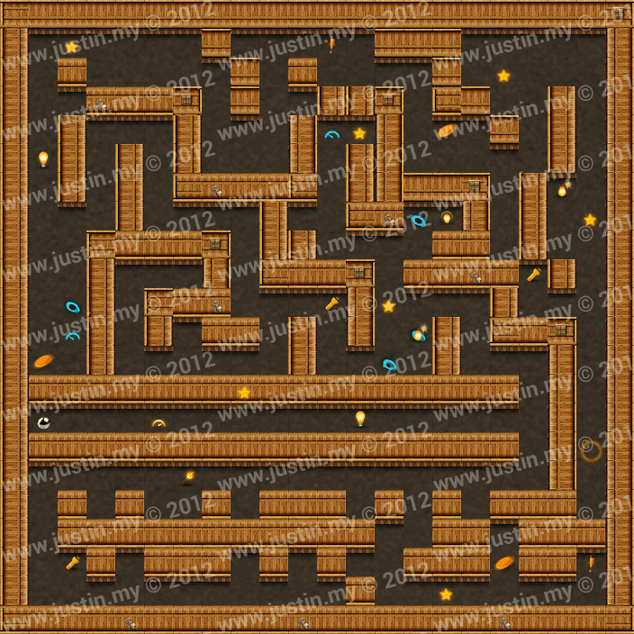 Reveal the Maze Level 3-10