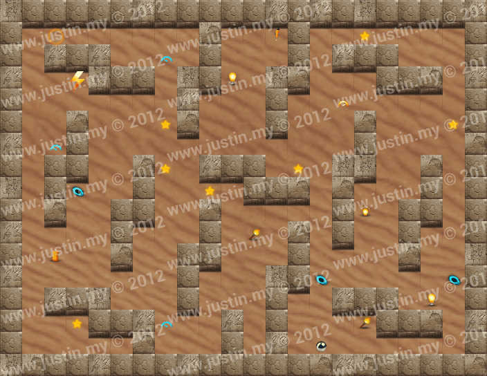 Reveal the Maze Level 6-2