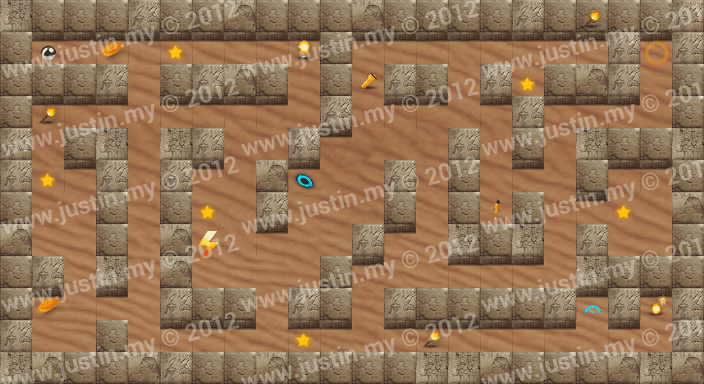 Reveal the Maze Level 6-4