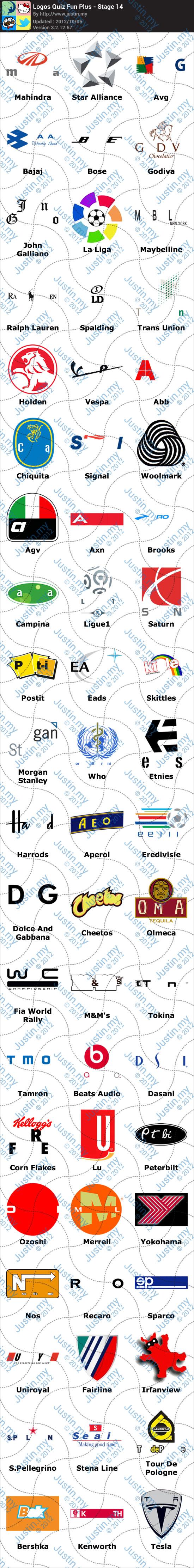 Logos Quiz Fun Plus Stage 14