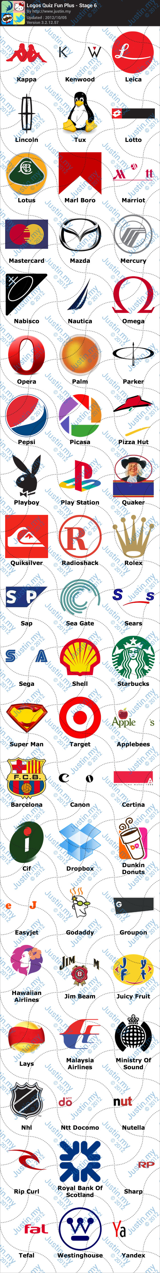 Logos Quiz Fun Plus Stage 6