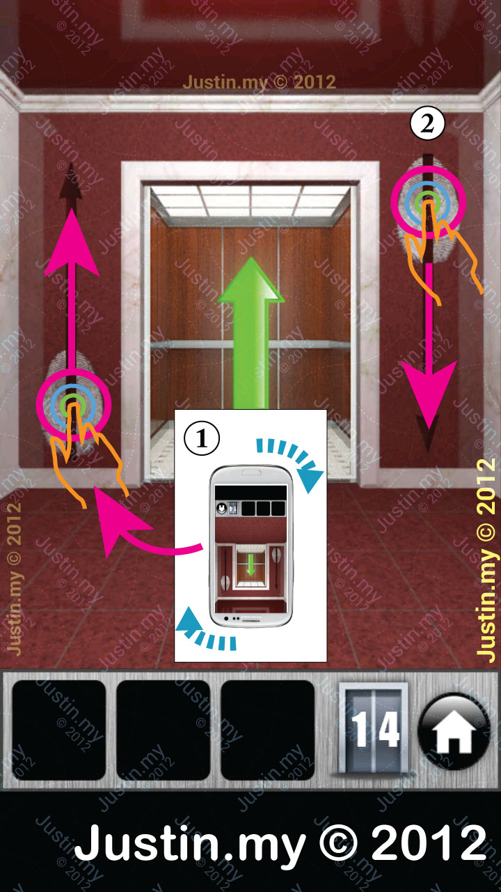 100 Doors 2013 Walkthrough Level 14
