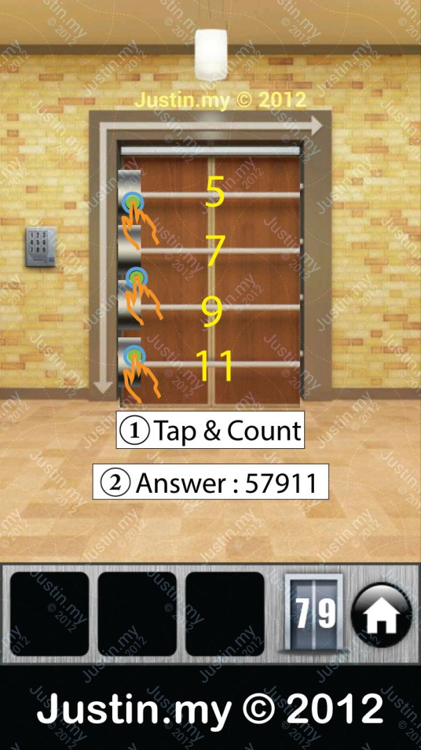 100 Doors 2013 Walkthrough Level 79