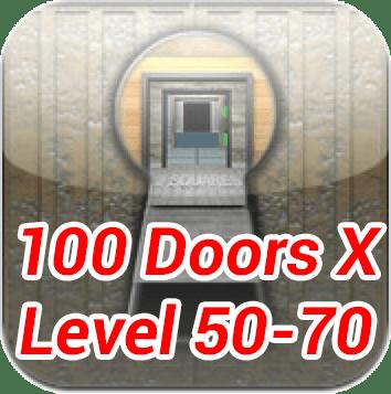 100 Doors X Level 50 70