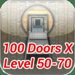 100 Doors X Level 50-70 Walkthrough update