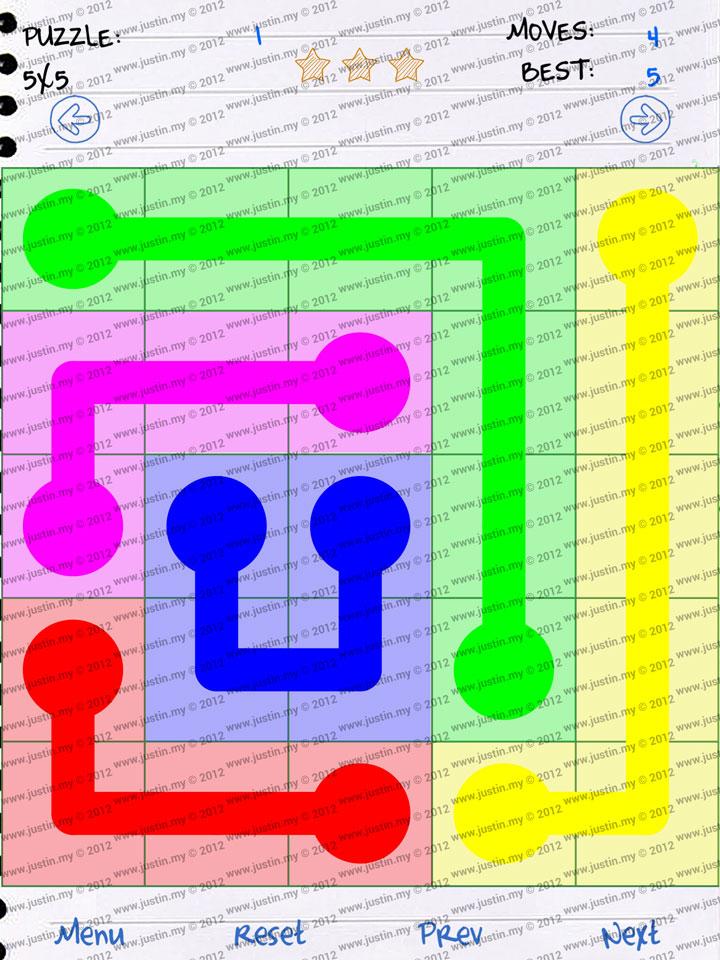 Doodle Flow 5x5 Level 1