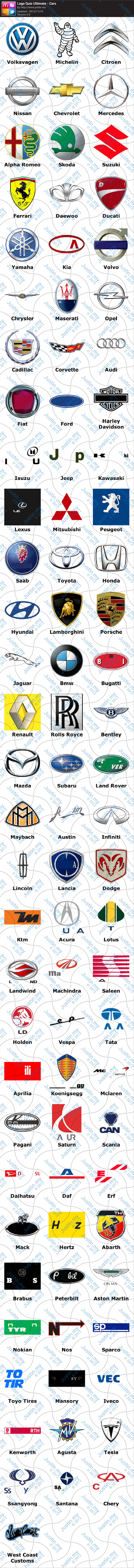 Logo Quiz Ultimate Cars