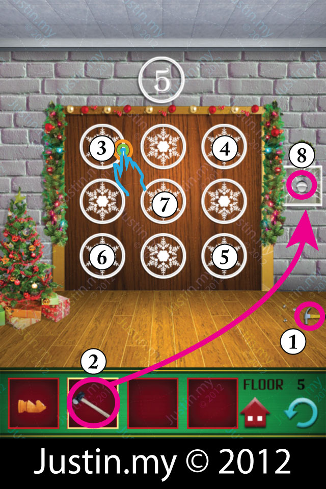 100 Floors Christmas Level 5