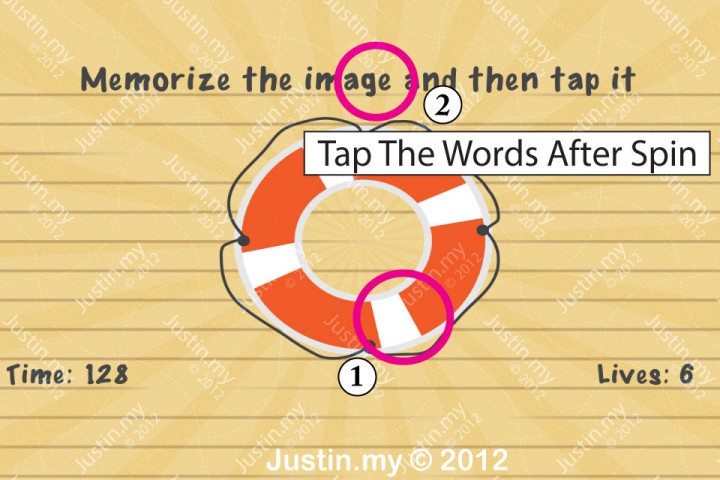 Impssible Test 2 - Memorize the image and then tap it